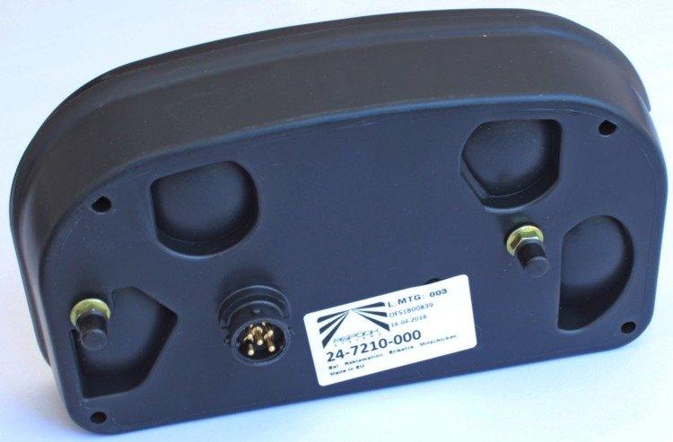 feu arri re droit multipoint 2 asp ck unitrailer. Black Bedroom Furniture Sets. Home Design Ideas