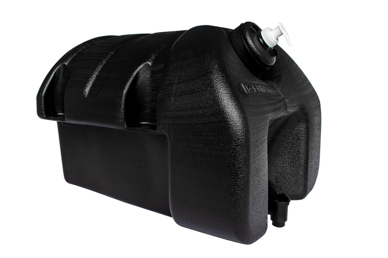 Réservoir d'eau en plastique pour camion 30 L avec porte savon